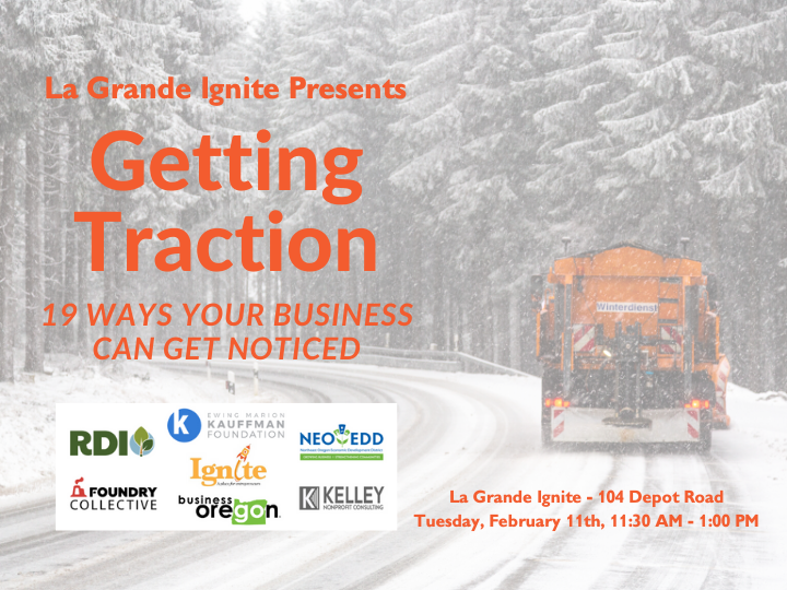 Getting Traction - 19 Ways to Get Your Business Noticed