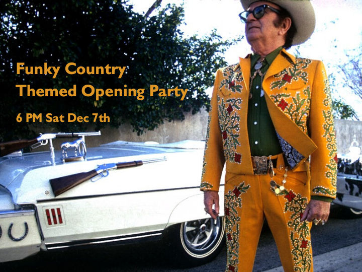 Funky Country Themed Opening Party